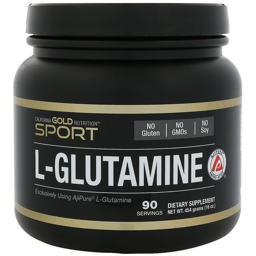 California Gold Nutrition, L-Glutamine Powder, AjiPure, Gluten Free, 16 oz (454 g) Review