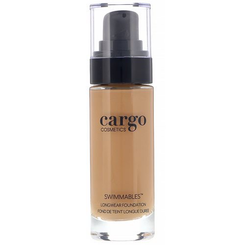 Cargo, Swimmables, Longwear Foundation, 60, 1 fl oz (30 ml) Review