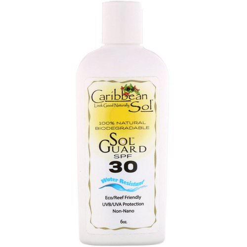 Caribbean Solutions, SolGuard SPF 30, Water Resistant, 6 oz Review