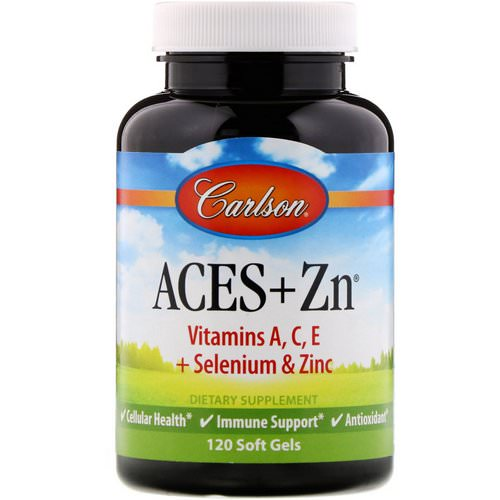 Carlson Labs, Aces + Zn, 120 Soft Gels Review