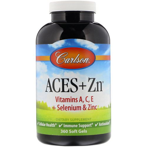 Carlson Labs, Aces + Zn, 360 Soft Gels Review