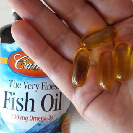 Carlson Labs, Omega-3 Fish Oil