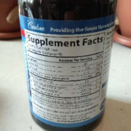 Supplements Fish Oil Omegas EPA DHA Omega-3 Fish Oil Carlson Labs
