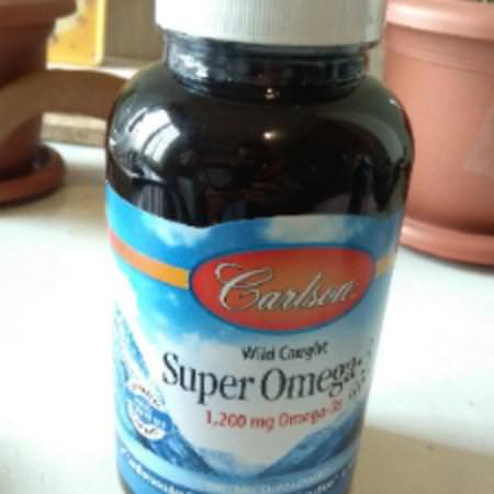 Carlson Labs, Wild Caught Super Omega-3 Gems, 1,200 mg, 250 Soft Gels Review