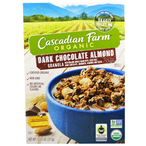 Cascadian Farm, Organic, Granola, Dark Chocolate Almond, 13.25 oz (375 g) Review