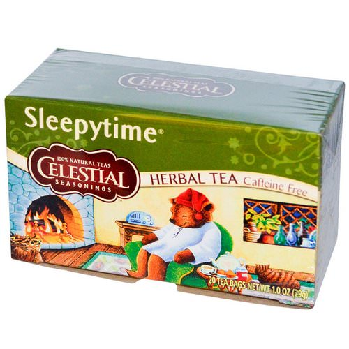 Celestial Seasonings, Herbal Tea, Sleepytime, Caffeine Free, 20 Tea Bags, 1.0 oz (29 g) Review