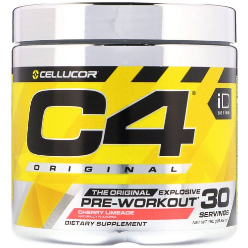 Cellucor, C4 Original Explosive, Pre-Workout, Cherry Limeade, 6.88 oz (195 g) Review