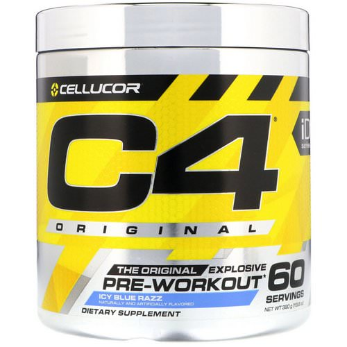 Cellucor, C4 Original Explosive, Pre-Workout, Icy Blue Razz, 13.8 oz (390 g) Review