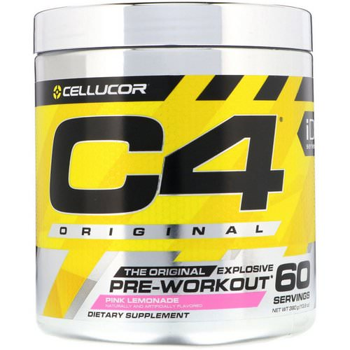 Cellucor, C4 Original Explosive, Pre-Workout, Pink Lemonade, 13.8 oz (390 g) Review