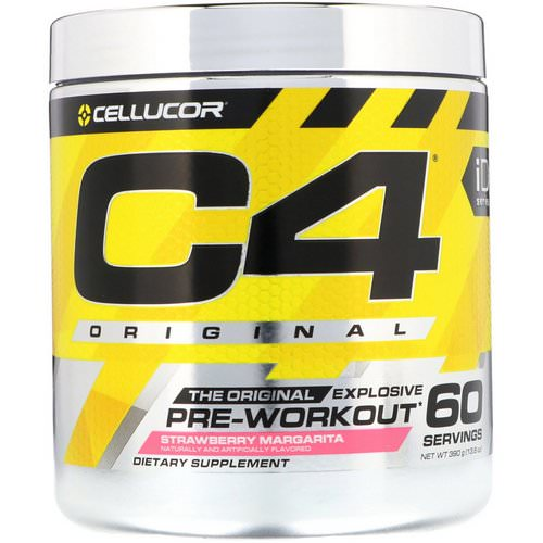Cellucor, C4 Original Explosive, Pre-Workout, Strawberry Margarita, 13.8 oz (390 g) Review