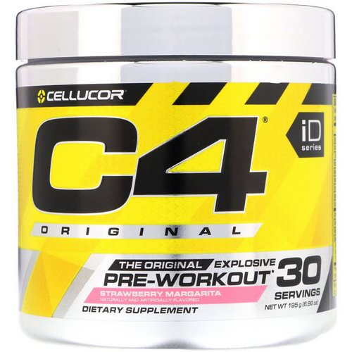 Cellucor, C4 Original Explosive, Pre-Workout, Strawberry Margarita, 6.88 oz (195 g) Review