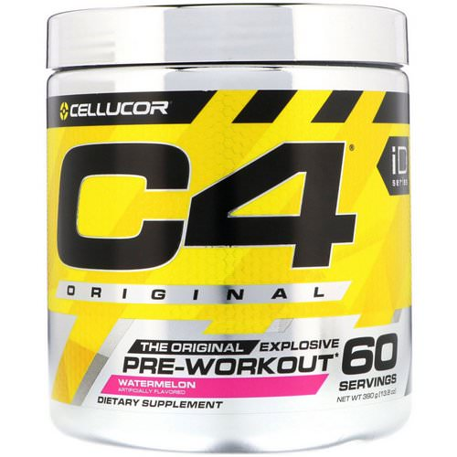 Cellucor, C4 Original Explosive, Pre-Workout, Watermelon, 13.8 oz (390 g) Review