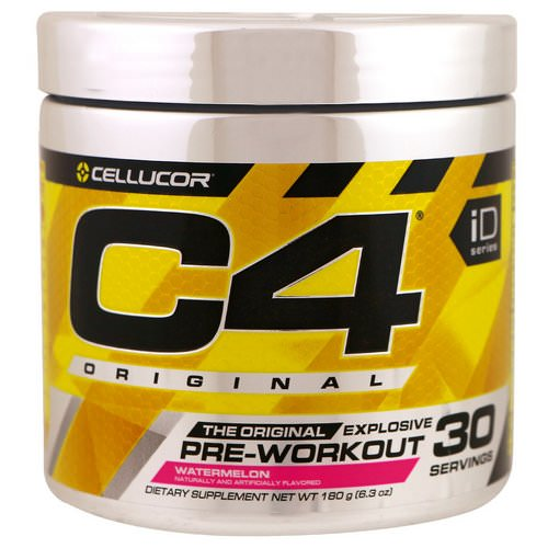 Cellucor, C4 Original Explosive, Pre-Workout, Watermelon, 6.3 oz (180 g) Review