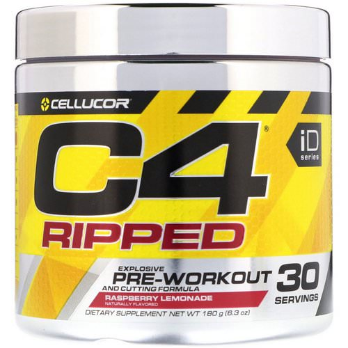 Cellucor, C4 Ripped, Pre-Workout, Raspberry Lemonade, 6.3 oz (180 g) Review