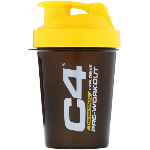 Cellucor, C4, SmartShake Shaker Cup, Black/Yellow, 20 oz (600 ml) Review