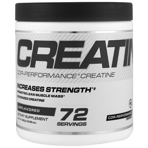 Cellucor, Cor-Performance Creatine, Unflavored, 12.69 oz (360 g) Review