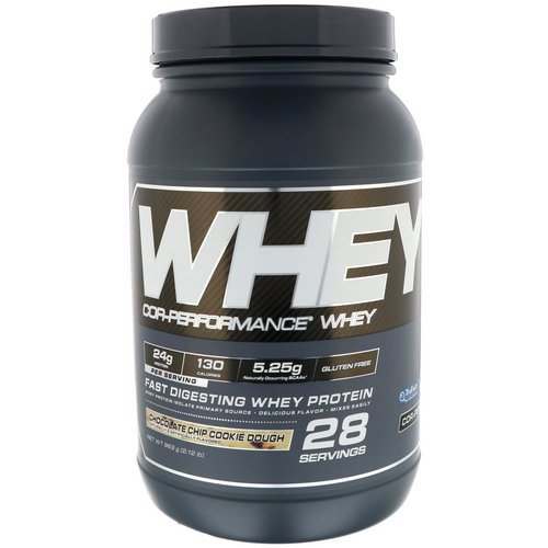Cellucor, Cor-Performance Whey, Chocolate Chip Cookie Dough, 2.12 lb (963 g) Review
