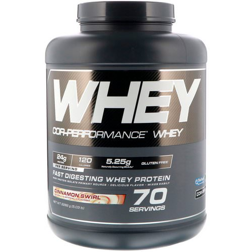 Cellucor, Cor-Performance Whey, Cinnamon Swirl, 5.03 lb (2282 g) Review