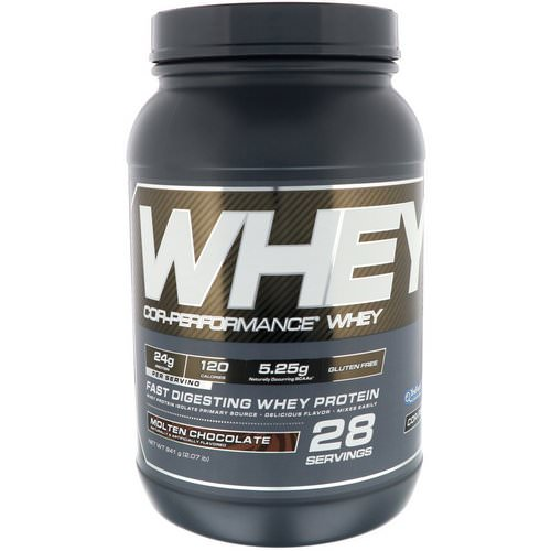 Cellucor, Cor-Performance Whey, Molten Chocolate, 2.07 lb (941 g) Review