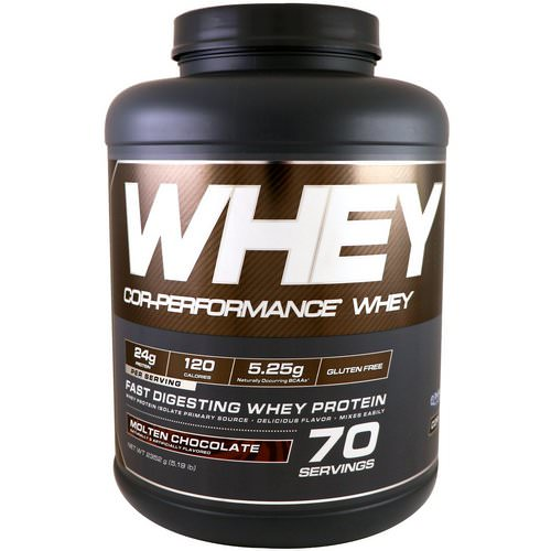 Cellucor, Cor-Performance Whey, Molten Chocolate, 5.19 lb (2352 g) Review
