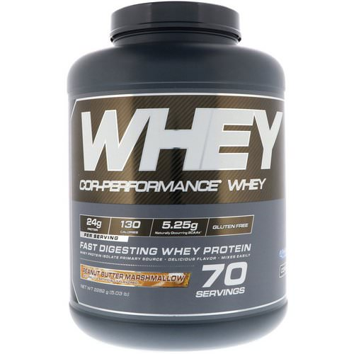 Cellucor, Cor-Performance Whey, Peanut Butter Marshmallow, 5.03 lb (2282 g) Review