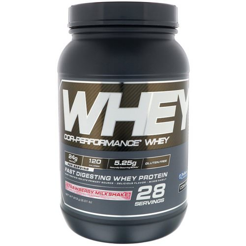Cellucor, Cor-Performance Whey, Strawberry Milkshake, 2.01 lb (913 g) Review