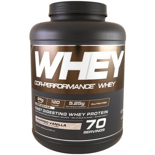 Cellucor, Cor-Performance Whey, Whipped Vanilla, 4.89 lb (2219 g) Review