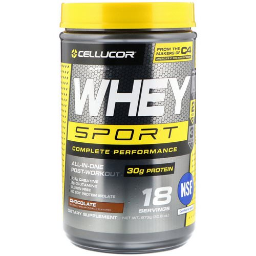 Cellucor, Whey Sport Complete Performance, Chocolate, 1.92 lbs (873 g) Review