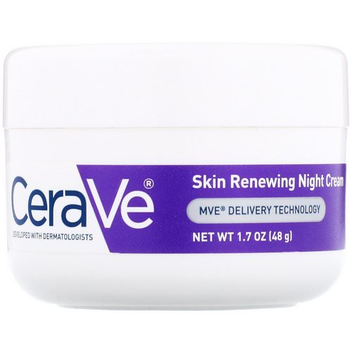 CeraVe, Skin Renewing Night Cream, 1.7 oz (48 g) Review