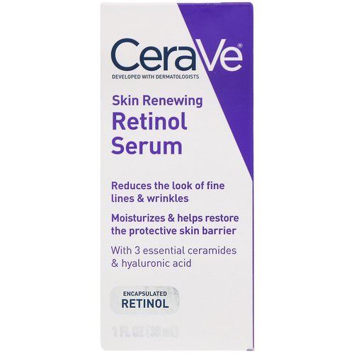 CeraVe, Skin Renewing Retinol Serum, 1 fl oz (30 ml) Review