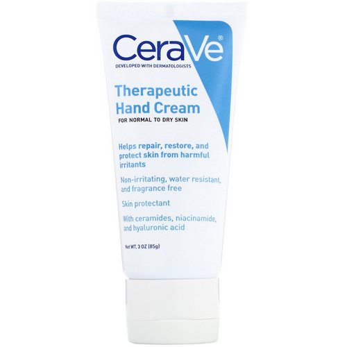CeraVe, Therapeutic Hand Cream, 3 oz (85 g) Review