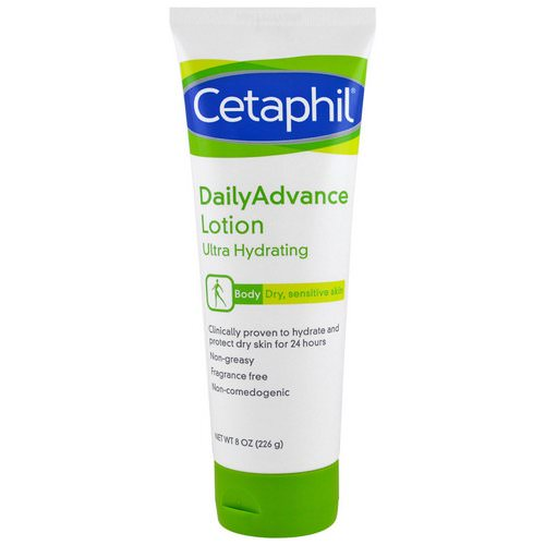 Cetaphil, DailyAdvance Lotion, Ultra Hydrating, 8 oz (226 g) Review