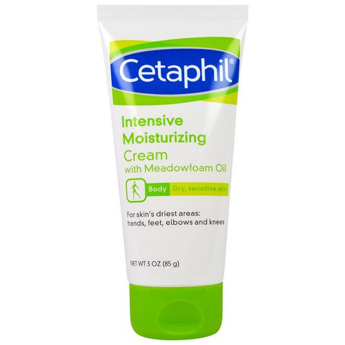 Cetaphil, Intensive Moisturizing Cream with Meadowfoam Oil, 3 oz (85 g) Review