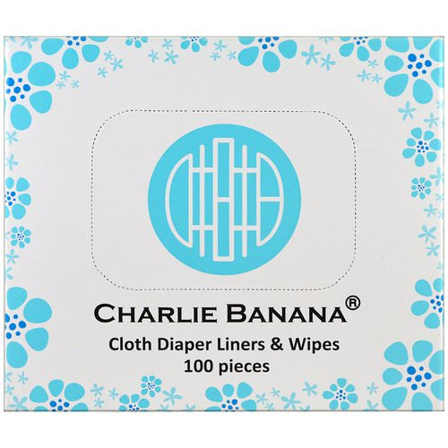 Charlie Banana, Cloth Diaper Liners & Wipes, 100 Pieces Review