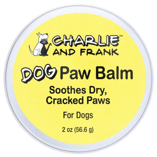 Charlie & Frank, Dog Paw Balm, 2 oz (56.6 g) Review
