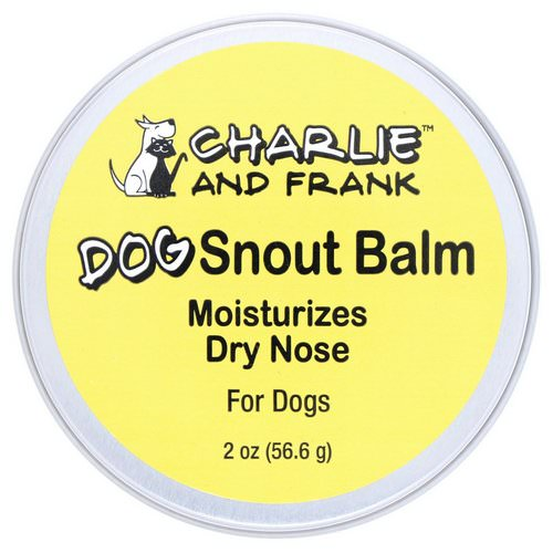 Charlie & Frank, Dog Snout Balm, 2 oz (56.6 g) Review