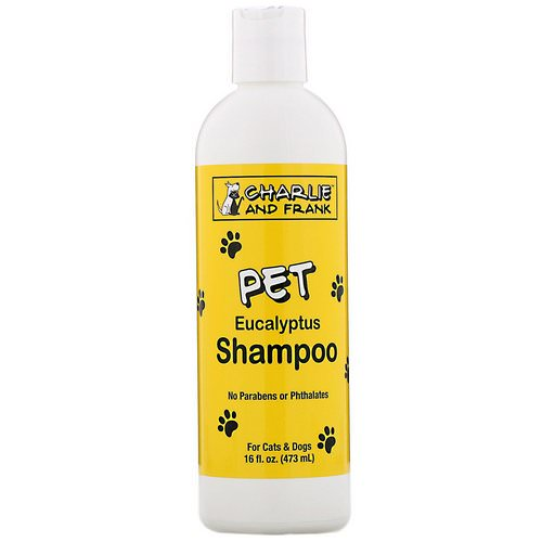 Charlie & Frank, Pet Shampoo, Eucalyptus, 16 fl oz (473 ml) Review