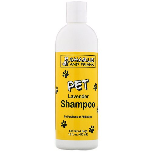 Charlie & Frank, Pet Shampoo, Lavender, 16 fl oz (473 ml) Review