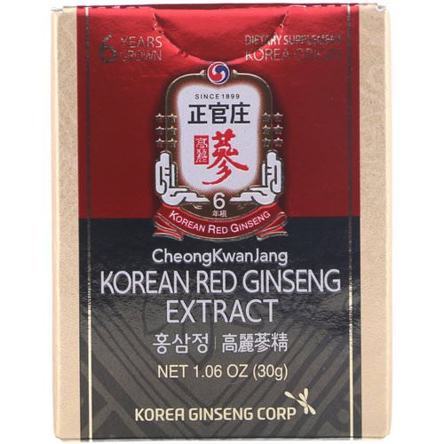 Cheong Kwan Jang, Korean Red Ginseng Extract, 1.06 oz (30 g) Review