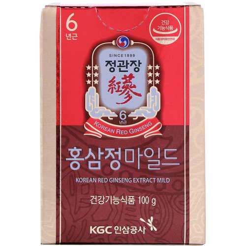 Cheong Kwan Jang, Korean Red Ginseng Extract Mild, 3.5 oz (100 g) Review