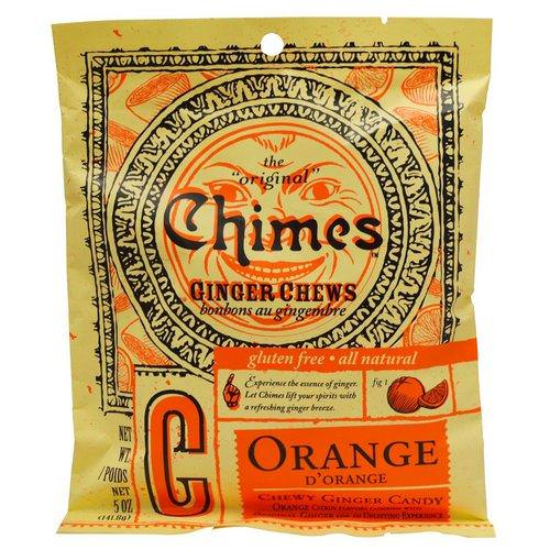 Chimes, Ginger Chews, Orange, 5 oz (141.8 g) Review
