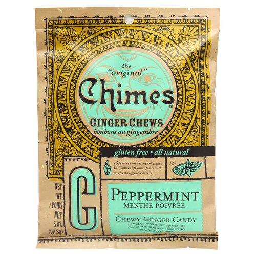 Chimes, Ginger Chews, Peppermint, 5 oz (141.8 g) Review