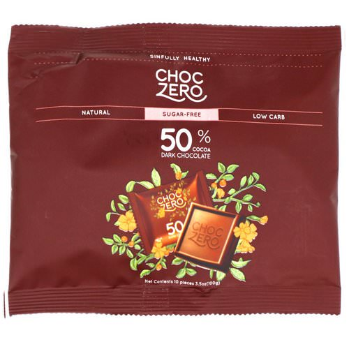 ChocZero Inc, Dark Chocolate Chips, Sugar Free, 7 oz Review