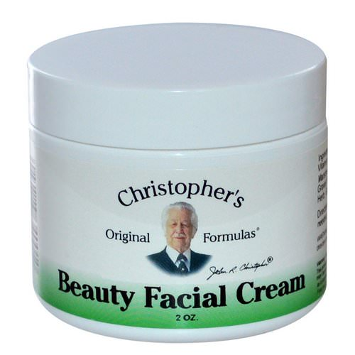 Christopher's Original Formulas, Beauty Facial Cream, 2 oz Review
