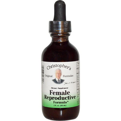 Christopher's Original Formulas, Female Reproductive Formula, 2 fl oz (59 ml) Review