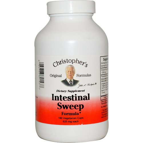 Christopher's Original Formulas, Intestinal Sweep Formula, 625 mg, 180 Veggie Caps Review