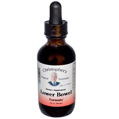 Christopher's Original Formulas, Lower Bowel Formula, 2 fl oz (59 ml) Review