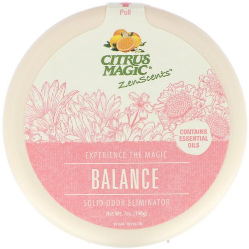Citrus Magic, ZenScents, Balance, 7 oz (198 g) Review