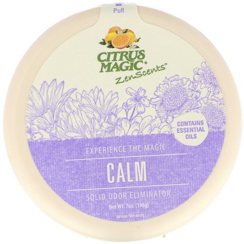 Citrus Magic, ZenScents, Calm, 7 oz (198 g) Review