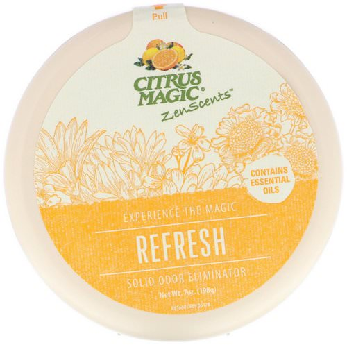 Citrus Magic, ZenScents, Refresh, 7 oz (198 g) Review